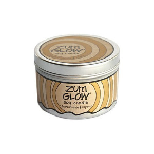 Indigo Wild Zum Glow Soy Candles, Frankincense and Myrrh