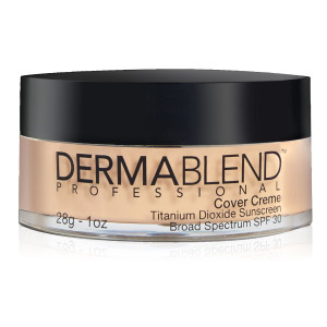 Dermablend Cover Creme Full Coverage Foundation Makeup with SPF 30 for All-Day Hydration, 21 Shades, 1 Oz.