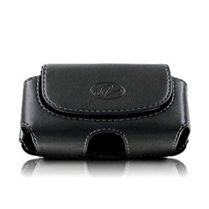 Milan Extra Small Universal Horizontal Cell Phone Case / Pouch / Holster with Belt Loop and Belt Clip