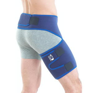 NEO G Groin Support - Medical Grade  Quality HELPS groin strains, sprains, pain, pulls, tears, aches, stiffness, injury, recovery and rehabilitation-Everyday or sporting activities-ONE SIZE Unisex Brace