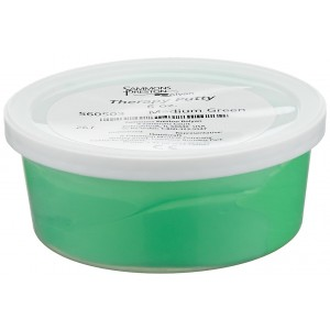 Sammons Preston Therapy Putty for Physical Therapeutic Hand Exercises, Flexible Putty for Finger and Hand Recovery and Rehabilitation, Strength Training, Occupational Therapy, 6 Ounce, Medium, Green