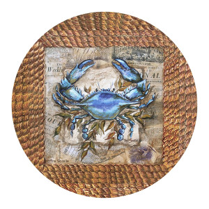 Thirstystone Drink Coaster Set, Clam Bake Accent