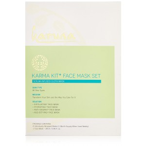 Karuna Karma Kit + Face Mask Set, Pack of 4