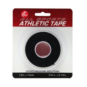 """Cramer Team Color Athletic Tape, Easy Tear Tape for Ankle, Wrist, and Injury Taping, Protect and Prevent Injuries, Promote Healing, Athletic Training Supplies, 1.5""""  X 10 Yard Roll"""