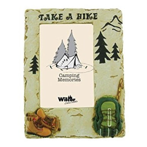 Take a Hike Photo Frame, 4x6 (Raised Accents)