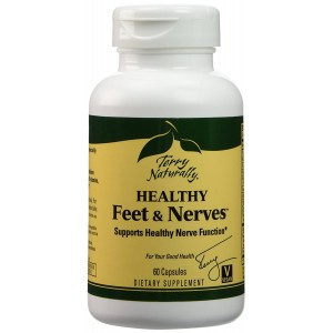 Terry Naturally Healthy Feet and Nerves, 60 Capsules (FFP)