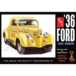 AMT 1936 Ford Coupe 1/25 Scale Plastic Model Car Kit