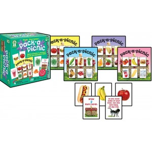 """Key Education Photo """"First Games"""" : Pack-a-Picnic Educational Board Game"""