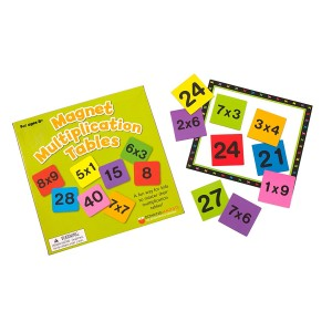 Dowling Magnets Magnet Multiplication Tables