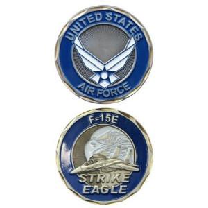 U.S. Air Force F-15E Strike Eagle Challenge Coin