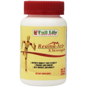 Full Life Reuma-Art X Strength Joint Mobility and Flexibility, 120 Caps