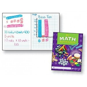 Delta Education My Math Notebooks, Grade s 3-6 (Pack of 10)