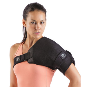 Shoulder Wrap For Hot Or Cold - Rotator Cuff Ice Pack - Comes With Removal Gel Ice Packs And Adjustable Straps