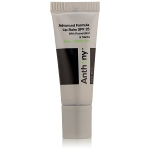 Anthony Mint and White Tea Lip Balm SPF 25 , 0.25 Oz