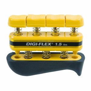 Digi-Flex Yellow Hand and Finger Exercise System, 1.5 lbs Resistance