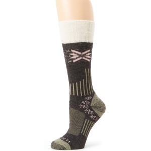 Carhartt Women's Snow Flake Sherpa Cuff Graduated Compression Boot Sock