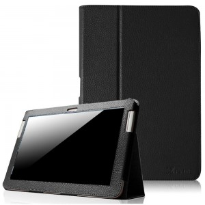 Fintie Slim Fit Folio Case Cover for Samsung Galaxy Tab 2 10.1 inch Tablet - Black