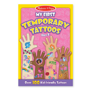 Melissa and Doug My First Temporary Tattoos: 100+ Kid-Friendly Tattoos - Rainbows, Fairies, Flowers, and More