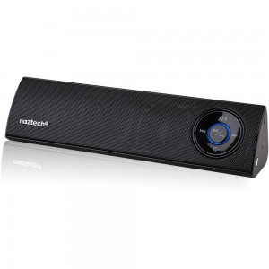 Naztech N35 Klub Wireless Bluetooth A2DP Stereo Speaker for Apple iPhone/iPad/Samsung S5/S4/Note 3/4 and More - Black