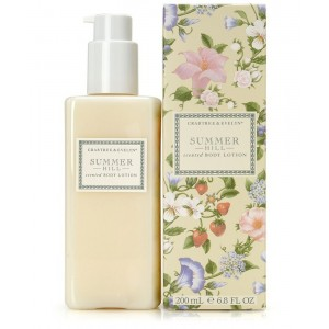 Crabtree and Evelyn Scented Body Lotion, Summer Hill, 6.8 fl. oz.
