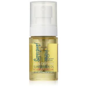 Supergoop! Sun-Defying Sunscreen Oil with Meadowfoam SPF 50