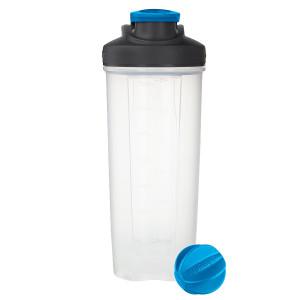 Contigo Shake and Go Fit Shaker Bottle, 28oz, Carolina Blue