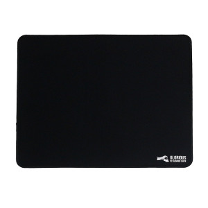 "Glorious Large Gaming Mouse Mat / Pad - Stitched Edges, 2mm thick, Black Mousepad | 11"" x13"" x0.08""  (G-L)"