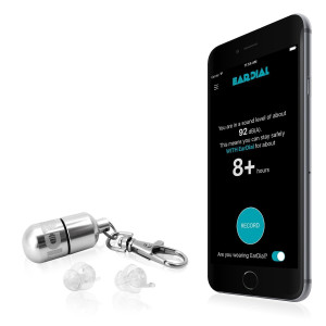 EarDial -The Invisible Smart Earplugs for Live Music- Discreet High-Fidelity Hearing Protection with Companion Mobile App. Perfect for Concerts, Nightclubs, Festivals, Musicians, or Loud Social Events