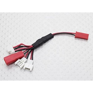 X-Drone Nano H107R Multi-Plug Charge Lead for Micro Model Batteries - FAST FREE SHIPPING FROM Orlando, Florida USA!