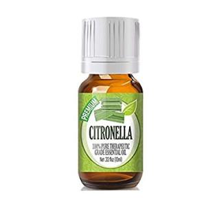 Citronella (Organic) 100% Pure, Best Therapeutic Grade  Essential Oil - 10ml