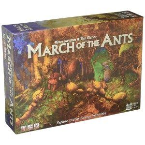 Weird City Games March of the Ants Strategy Board Game