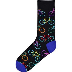 K. Bell Socks Men's Manly Man Novelty Crew Socks