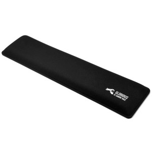 Glorious Gaming Wrist Pad/Rest - FULL STANDARD SIZE - Black - Mechanical Keyboards,Stitched Edges,Ergonomic | 17.5x4 inches/25mm Thick (GWR-100) Full Size (Black)