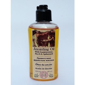 Anointing Oil with Frankincense Myrrh Spikenard Authentic Fragrance 120 Ml