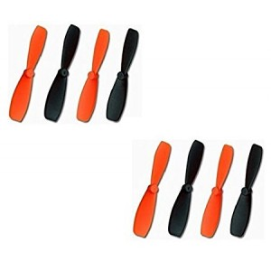 2 x Quantity of X-Drone Nano H107R Ultra Durable Propeller Blades Rotor Props - FAST FREE SHIPPING FROM Orlando, Florida USA!