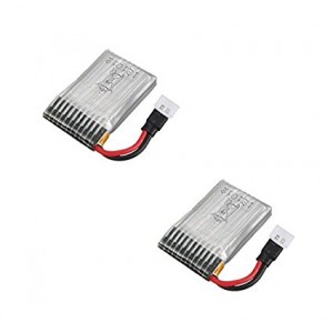 2 x Quantity of DBPower RC Quadcopter Drone 3.7v 240mAh Lipo Battery Rechargeable Power Pack - FAST FROM Orlando, Florida USA!