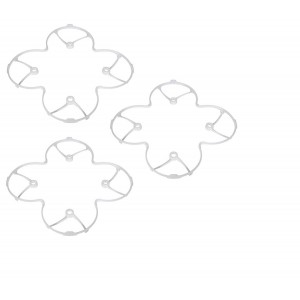 3 x Quantity of Radio Shack Surveyor Drone Protection Cover Body Shield Guard Trainer White Upgrade - FAST FREE SHIPPING FROM Orlando, Florida USA!