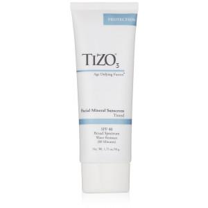 TIZO 3 Tinted Facial Mineral SPF40 Sunscreen , 1.75 oz