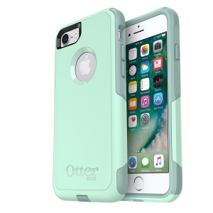 OtterBox COMMUTER SERIES Case for iPhone 8 and iPhone 7 (NOT Plus) - Frustration Free Packaging - OCEAN WAY (AQUA SAIL/AQUIFER)
