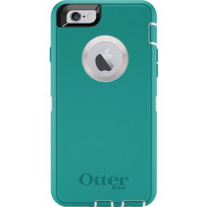 OtterBox DEFENDER iPhone 6/6s Case - Frustration-Free Packaging - SEACREST (WHISPER WHITE/LIGHT TEAL)