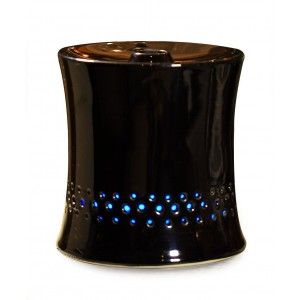 SPT Ultrasonic Aroma Diffuser/Humidifier with Black Ceramic Housing