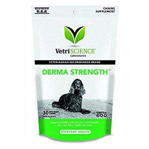 VetriScience Laboratories Derma Strength Skin and Coat Care for Dogs