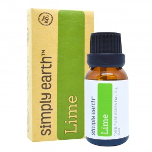 Lime Essential Oil by Simply Earth - 15 ml, 100% Pure Therapeutic Grade