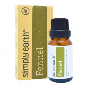Fennel Essential Oil by Simply Earth - 15 ml, 100% Pure Therapeutic Grade