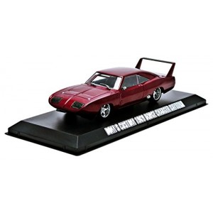 GreenLight The Fast and The Furious Six 2013 - 1969 Dodge Charger Daytona - Maroon Vehicle (1:43 Scale)