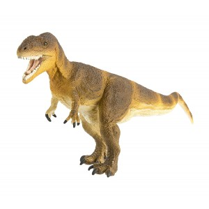 Safari Ltd Wild Safari Dinosaur and Prehistoric Life – Carcharodontosaurus – Roaring and Realistic Hand Painted Toy Figurine Model