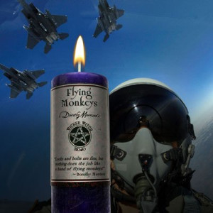 Wicked Witch Mojo - Flying Monkeys Candle