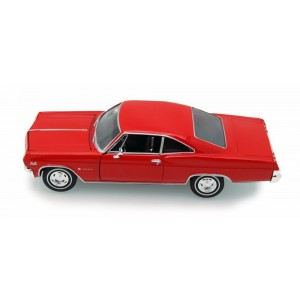 Welly 1965 Chevy Impala SS 396 HT 1/24 Scale Diecast Model Car Red