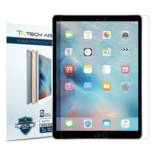 "iPad Pro (12.9"" ) Screen Protector, Tech Armor Anti-Glare/Anti-Fingerprint Apple iPad Pro 12.9-inch Film Screen Protector [2-Pack]"