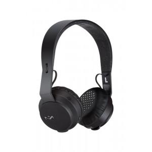 House of Marley EM-JH101-BK Rebel BT Bluetooth Headphones, Black